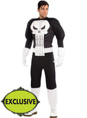 Adult Punisher Costume