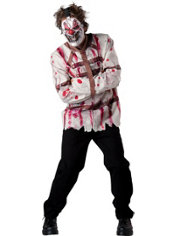 Adult Circus Psycho Clown Costume