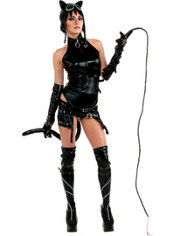 Adult Anime Catwoman Costume - Batman