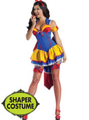 Adult Poison Apple Body Shaper Costume