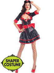 Adult Killer Nurse Body Shaper Costume
