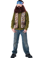Boys Willie Costume - Duck Dynasty
