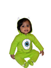 Baby Monsters, Inc. Mike One-Piece Pajamas