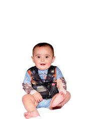 Baby Biker Bodysuit