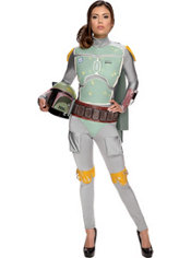 Adult Sassy Boba Fett Costume - Star Wars