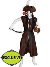 Adult Pirate Partysuit Costume