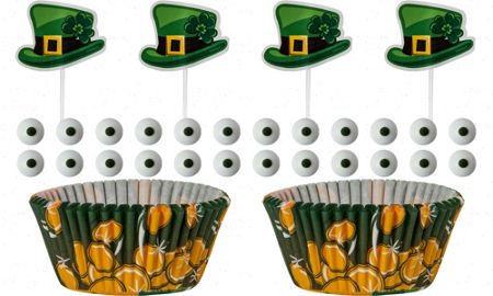 Shamrock Cake Pan Party City