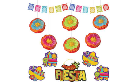 Caliente fiesta theme party supplies party city canada for 5 de mayo party decoration