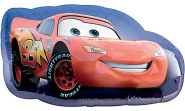 Foil Cars Lightning McQueen Balloon 30in