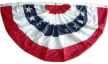 Patriotic Stars & Stripes Flag Bunting