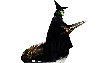 Wicked Witch Life Size Cardboard Cutout 72in