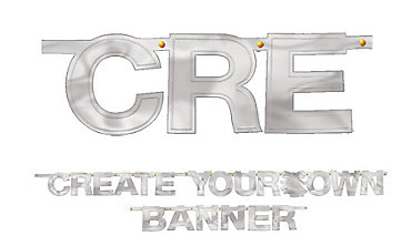 Create Your Own Banner Silver