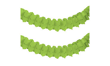 Kiwi Green Paper Garland
