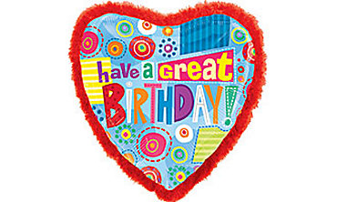 Foil Great Birthday Balloon 32in