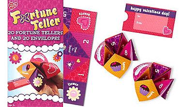 Fortune Teller Valentine Exchange Cards 20ct
