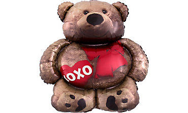 Teddy Bear Balloon - XOXO