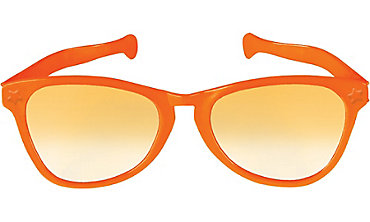 Orange Giant Fun Glasses