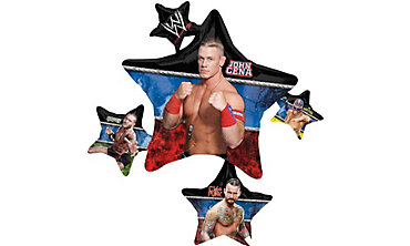 Foil Giant WWE Balloon 35in