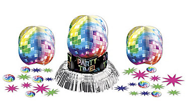 Disco Fever Table Decorating Kit 23pc