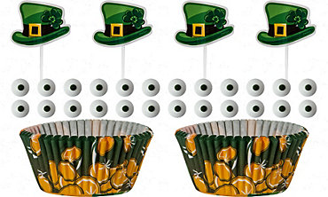 Leprechaun Cupcake Decorating Kit