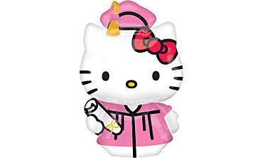 Foil Hello Kitty Graduation Balloon 50in