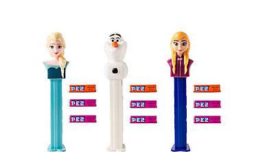 Frozen PEZ Dispensers 6ct
