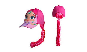 Child Shimmer Baseball Hat with Ponytail - Shimmer and Shine