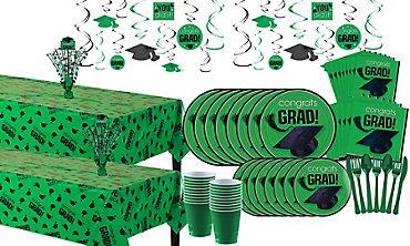 Green Graduation Ultimate Tableware Kit