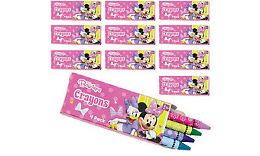 Minnie Mouse Crayon Boxes 24ct
