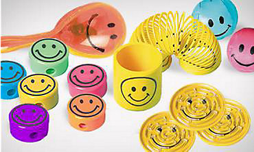 Smiley Party Favors