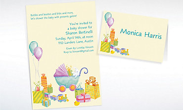 Custom It's a Baby Shower! Baby Shower Invitations & Thank You Notes