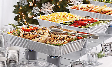 Holiday Chafing Dishes and Pans