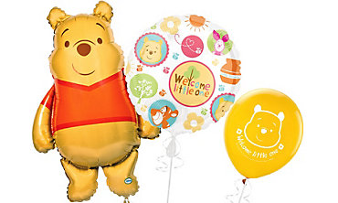 Winnie the Pooh Baby Shower Balloons