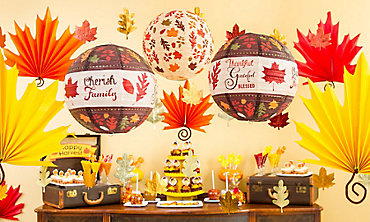 thanksgiving decorations - Party City Decorations