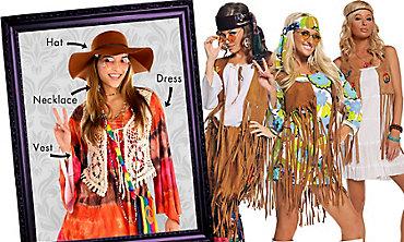Hippie Chick Mix & Match Women's Looks