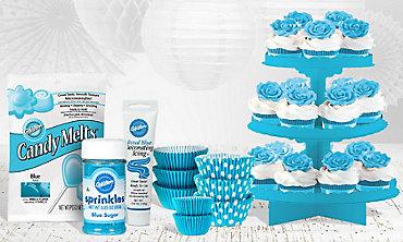 Caribbean Blue Baking Supplies