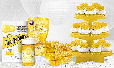 Yellow Baking Supplies