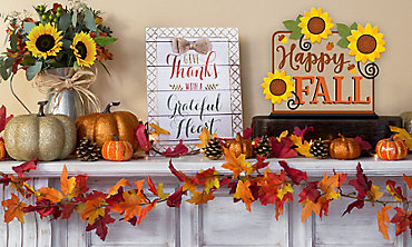 Fall Decorations Fall Table Decorations Party City