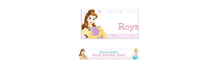Custom Disney Princess Banner