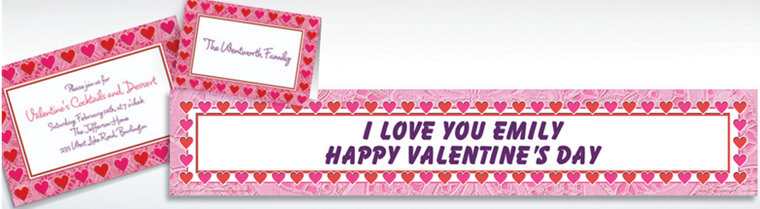 Custom Key To Your Heart Valentine's Day Invitations & Thank You Notes