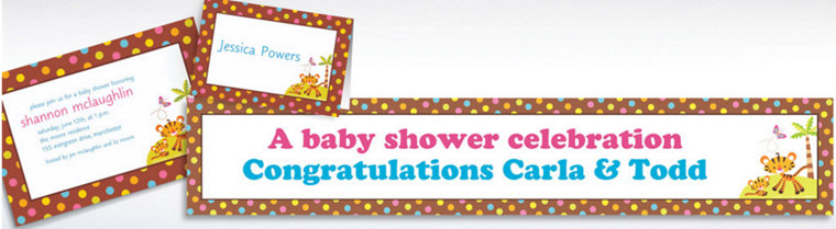 Custom Fisher Price Baby Shower Invitations & Thank You Notes