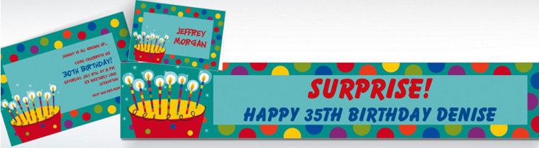 Custom Perfect Time to Party Birthday Invitations & Thank You Notes