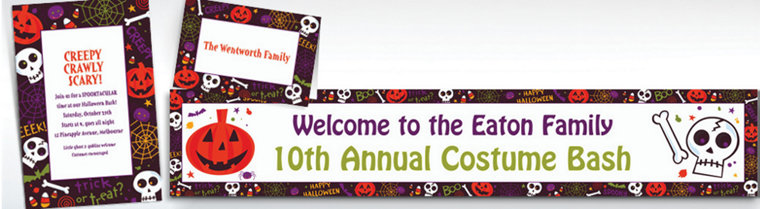 Custom Spooktacular Halloween Invitations & Thank You Notes