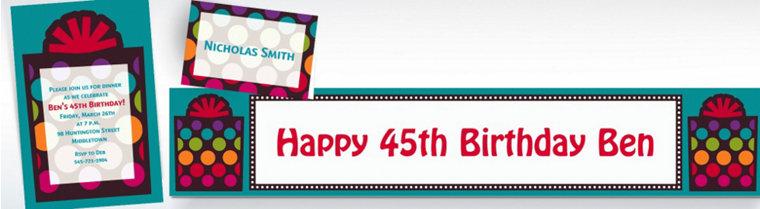 Custom Happy Birthday Invitations Party City – Party City Invitations