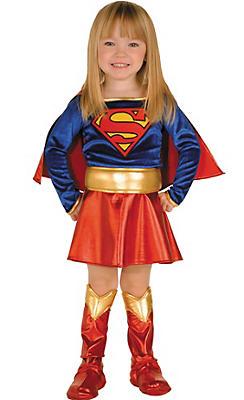 Toddler Girls Supergirl Costume - Superman