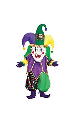 Adult Mardi Gras Parade Jester Costume