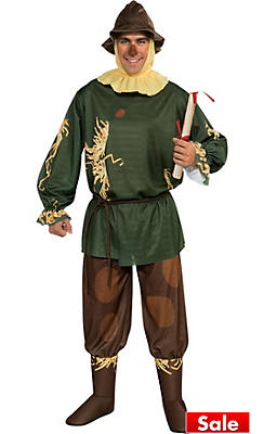Adult Scarecrow Costume - Wizard of Oz