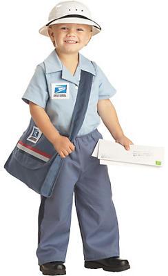 Toddler Boys Mr. Mailman Costume