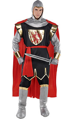 Adult Brave Crusader Knight Costume