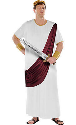 Adult Augustus Caesar Costume Plus Size